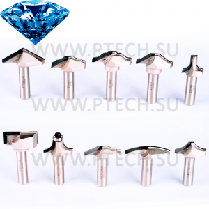 Алмазные концевые фрезы PCD
