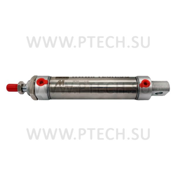 Мини-цилиндры Mindman производятся в корпусе из нержавеющей стали