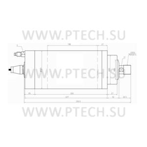 Шпиндель электрический GDZ-24-2