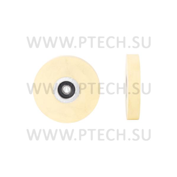 Ролик прижимной обрезиненный 75x8x13 - ПРОМТЕХКОМПЛЕКТ
