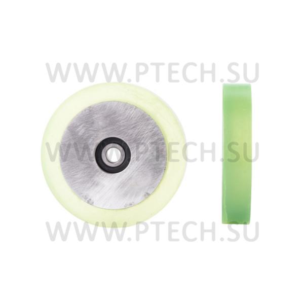 Ролик прижимной с полиуретановым покрытием 100x10x20 - ПРОМТЕХКОМПЛЕКТ