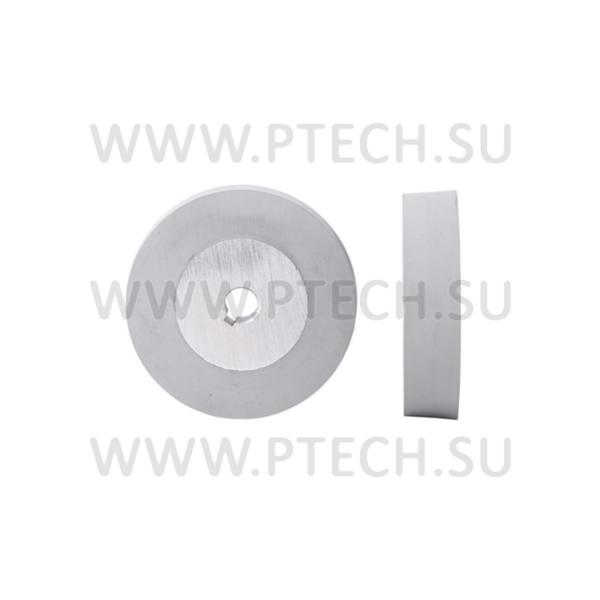 Ролик прижимной обрезиненный 106x15x25 - ПРОМТЕХКОМПЛЕКТ