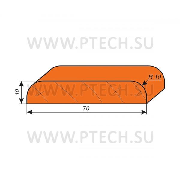Фреза для изготовления наличника 70х10 мм