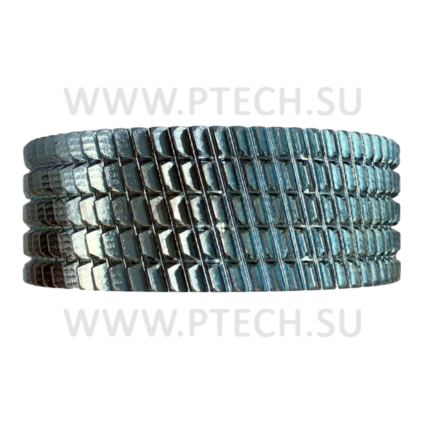 Ролик подающий, приводной зубчатый (рябуха) 140х35х50 мм