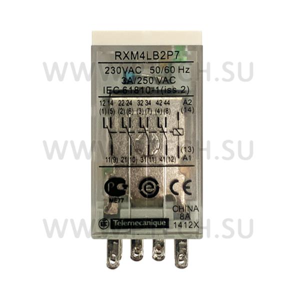 Реле RXM4LB2P7 230VAC Schneider - ПРОМТЕХКОМПЛЕКТ