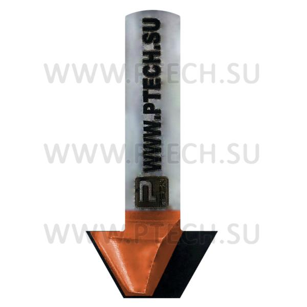 Фреза ТСТ концевая с углом 60 градусов 4725 - ПРОМТЕХКОМПЛЕКТ