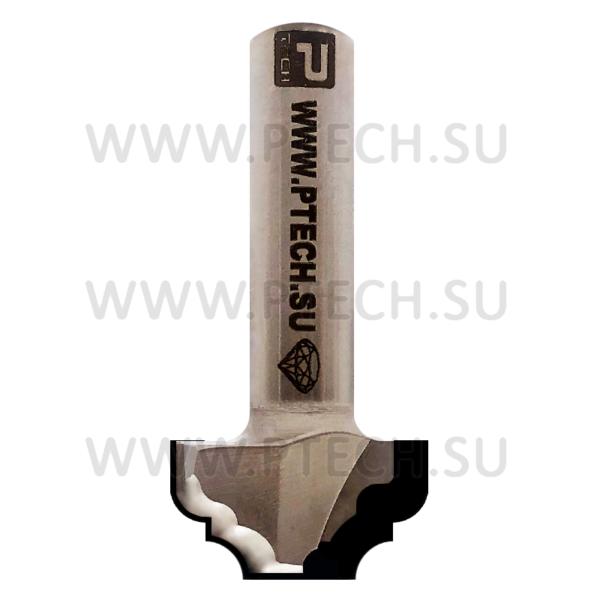 Концевая фреза алмазного типа филенка для ЧПУ станка для обработки фасада из материала МДФ 0690-12 - ПРОМТЕХКОМПЛЕКТ