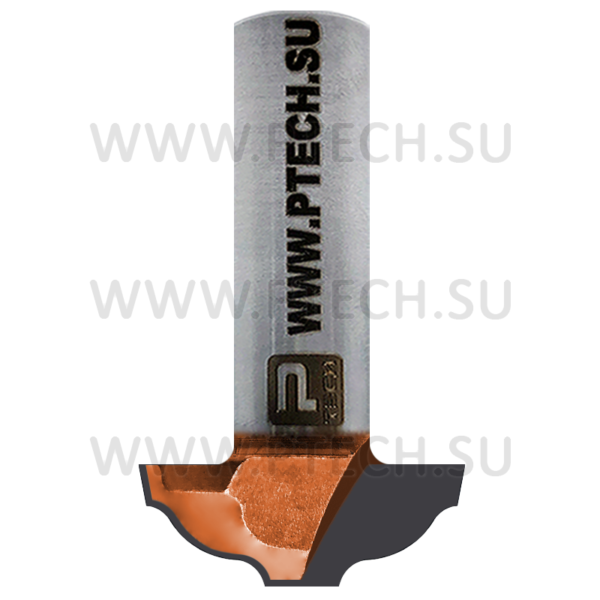 Концевая фреза твердосплавного типа 19 филенка для ЧПУ станка для обработки фасада из материала МДФ - ПРОМТЕХКОМПЛЕКТ