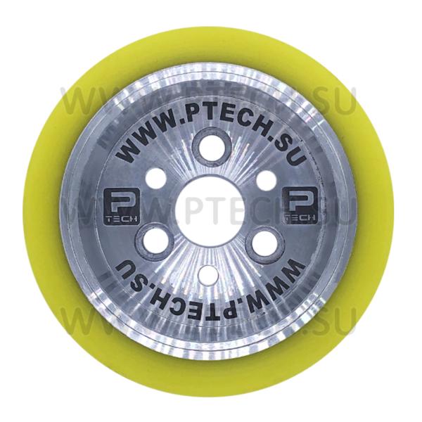 Ролик подающий для четырехстороннего станка 140x30x50 мм покрытие полиуретан - ПРОМТЕХКОМПЛЕКТ