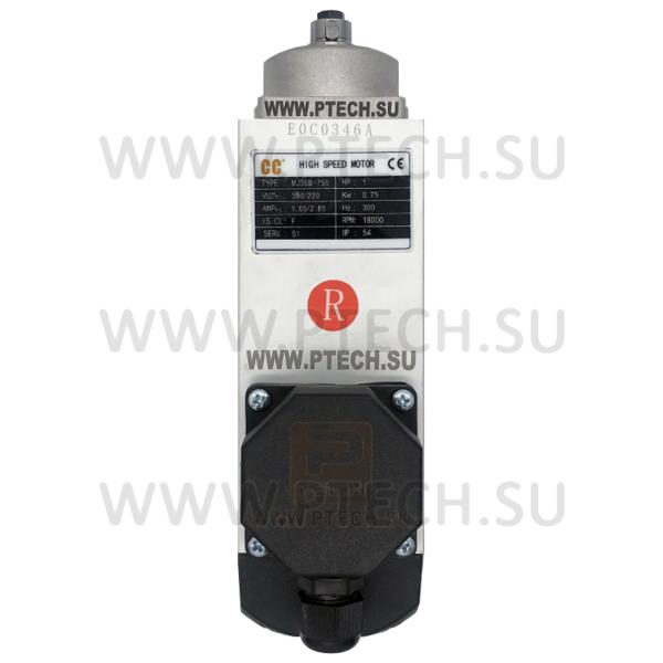 Электродвигатель MJ35B-750 0.75KW / 18000rpm снятия свесов правого вращения для Optima 264 - ПРОМТЕХКОМПЛЕКТ