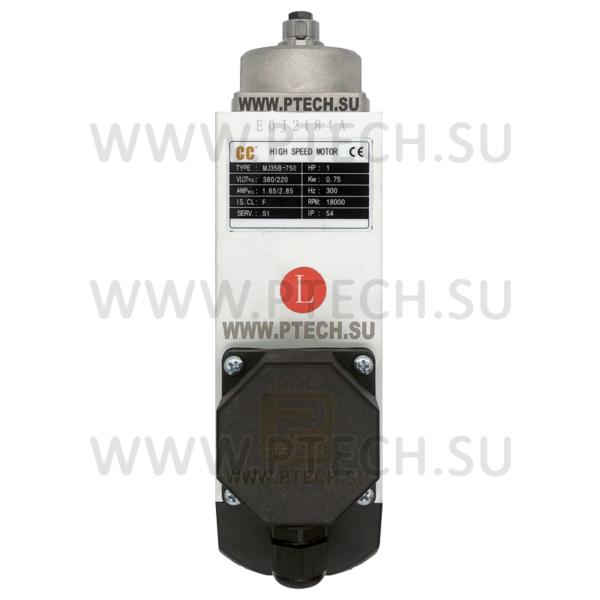 Электродвигатель MJ35B-750 0.75KW / 18000rpm снятия свесов левого вращения для Optima 264 - ПРОМТЕХКОМПЛЕКТ