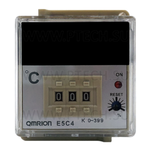 Температурный контроллер Omron E5C4-R20K - ПРОМТЕХКОМПЛЕКТ