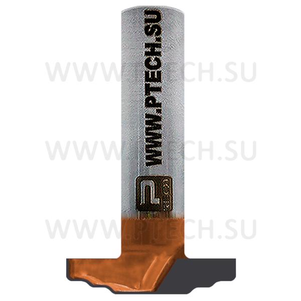 Концевая фреза твердосплавного типа профильная для ЧПУ станка для обработки фасада из материала МДФ 2346 - ПРОМТЕХКОМПЛЕКТ
