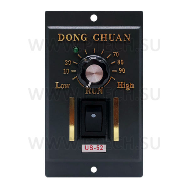 "Контроллер скорости US-52 двигателя ""DONG CHUAN"" - ПРОМТЕХКОМПЛЕКТ"
