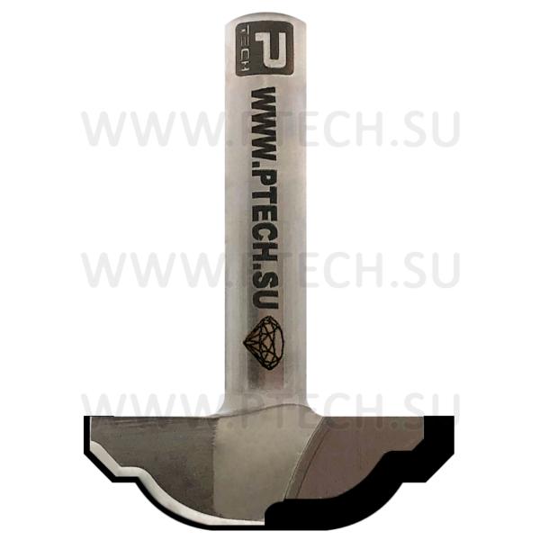 Алмазная фреза концевого типа филенка для станка с ЧПУ для работы с фасадом из МДФ 13510 - ПРОМТЕХКОМПЛЕКТ