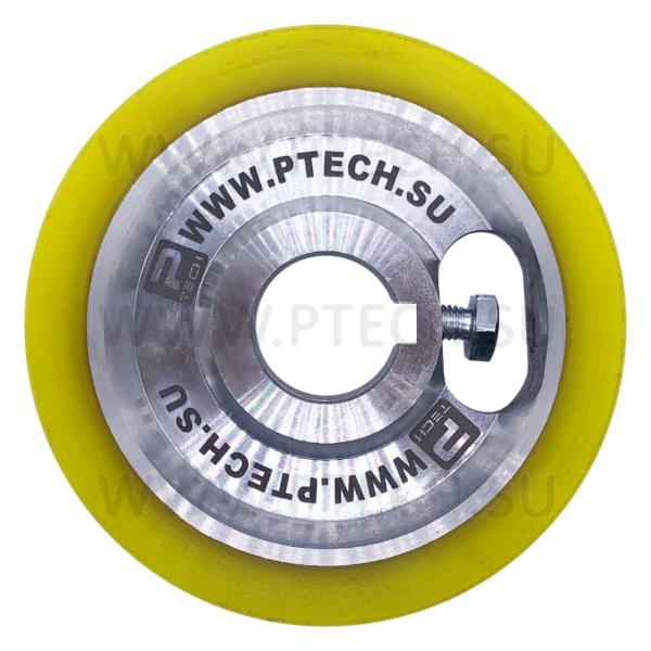 Ролик прижимной полиуретановый 120x30x20 - ПРОМТЕХКОМПЛЕКТ
