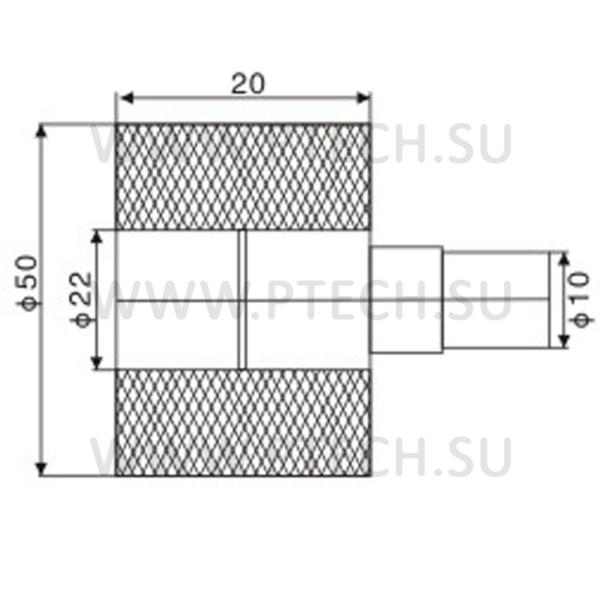 Ролик железный для линии укутывания профильного погонажа AF-75 - ПРОМТЕХКОМПЛЕКТ